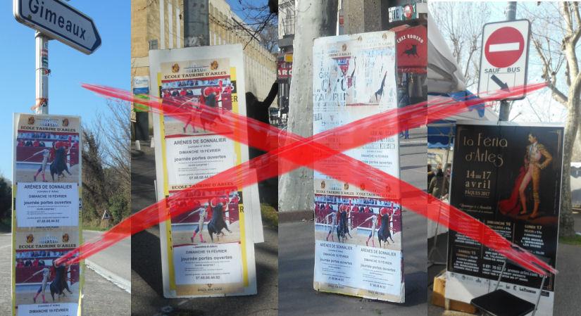 arles affich illegal