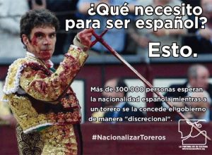torero nationalizar