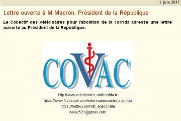 lettre covac macron