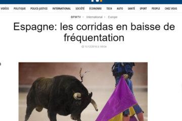 bfm corridas espagne